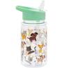 Gyermek ivópalack műanyag cicás kutyás