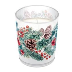 Illatgyertya üvegben Winter Branches illattal