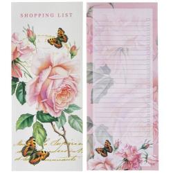 Notesz Shopping List lepkés