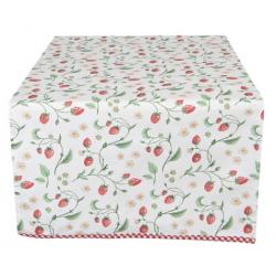 Asztali futó 50x140cm epres