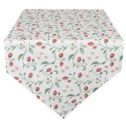 Asztali futó 50x160cm epres
