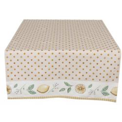 Asztali futó 50x140cm citromos