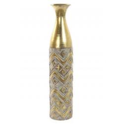 Fém váza aranyozott 70cm