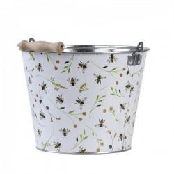 Fém vödör 5 literes méhecskés