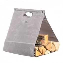 Tüzifahordó táska viaszolt vászon
