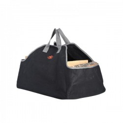 Tüzifahordó táska sötétszürke