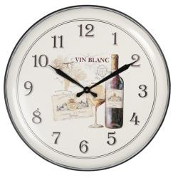Fém falióra 62cm Vin Blanc