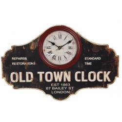 Fa Falióra üveg előlappal, Old Town Clock