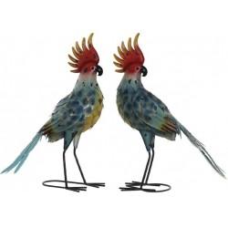Kerti dekoráció kakadu