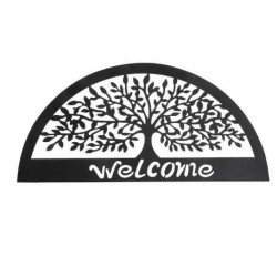 Fém fali dekoráció Welcome