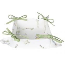 Kenyérkosár textil Happy Floral