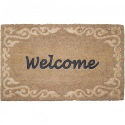 Kókuszrost lábtörlő welcome felirattal
