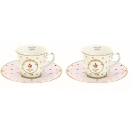 Porcelán eszpresszó csésze+alj 90 ml