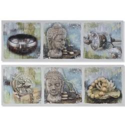 Falikép, 30X90X2cm - Buddha 2 féle