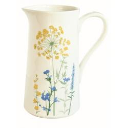 Porcelán kancsó virágos 1literes