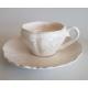 Kerámia kávés csésze Romantik csipkés