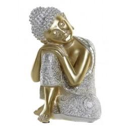 Buddha figura aranyozott