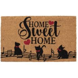 Lábtörlő kókuszrost Home sweet home