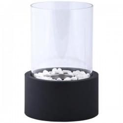 Asztali kandalló kör alakú