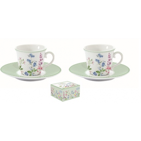 Porcelán eszpresszó csésze+alj 80 ml