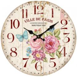 Fa fali óra 34 cm Ville de Paris