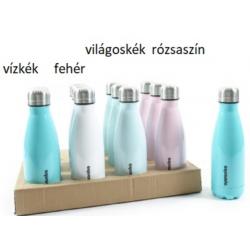 Rozsdamentes acél ivó palack 500 ml 4 féle