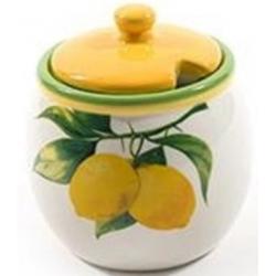 Kerámia cukortartó citromos
