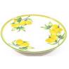 Kerámia tányér 26cm citromos