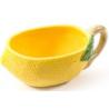 Kerámia kiöntő tál citromos