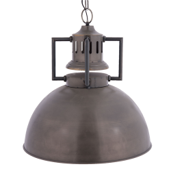 Fém függő lámpa barna