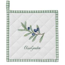 Edényalátét 20x20cm, pamut - Olive Garden
