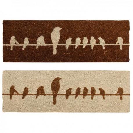 Kókuszrost lábtörlő madaras 2 féle