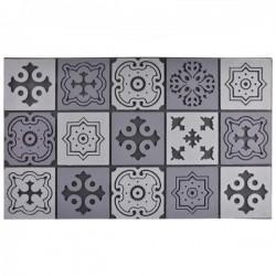 Filc lábtörlő szürke Mozaik minta