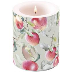 Átvilágítós gyertya nagy őszi almás