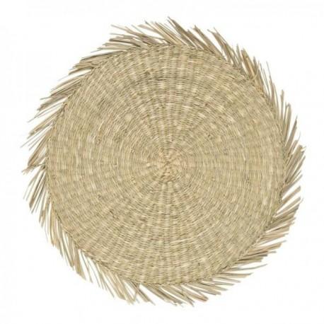 Tányéralátét tengeri fűből 38cm