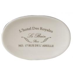 Kerámia fekvő szappantartó L'Hotel Des Royales