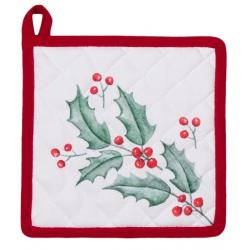 Edényalátét 20x20cm Holly Christmas