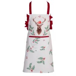 Gyermek konyhai kötény 48x56cm Holly Christmas