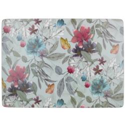 Parafa tányéralátét 4db Pillangós virágos