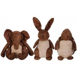 Bőr ajtókitámasztó 3 féle állat figura
