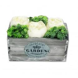 Fa kaspó kicsi Sweet Home Garden