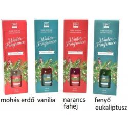 Illatosító olaj rattanpálcikával 125ml Karácsonyi illatok