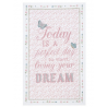 """Konyharuha 50x85cm,pamut - """"Today is a perfect Day"""""""