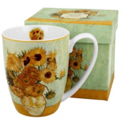 Porcelán bögre 380ml díszdobozban Van Gogh