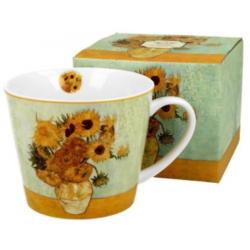 Porcelán bögre 610ml díszdobozban Van Gogh