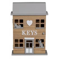 Kulcstartó szekrény cicás