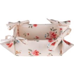 Kenyérkosár textil Little Rose