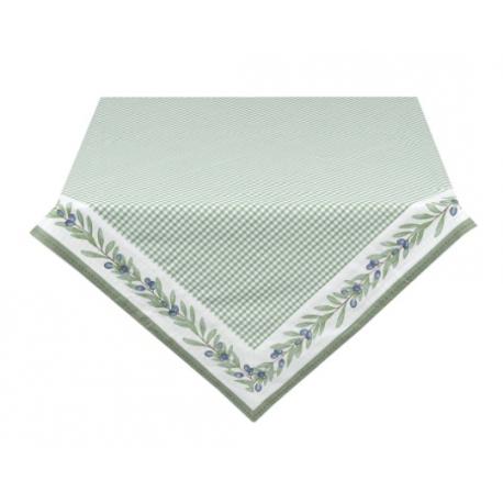 Asztalterítő, pamut 100x100cm - Olive Garden