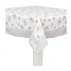 Asztalterítő, pamut 100x100cm -  Rose Yard