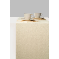 Asztalifutó papír 33x600cm - Elegance cream